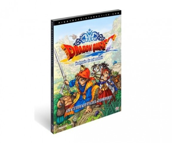 guide officiel dragon quest 8