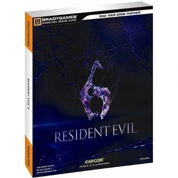 resident evil 6 cover guide officiel