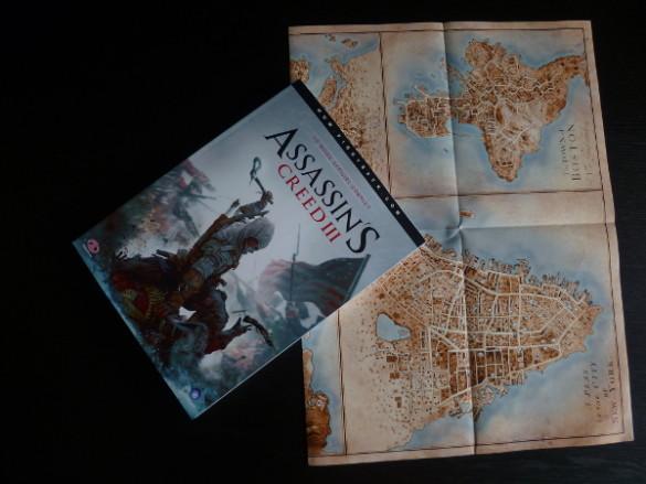 guide officiel et poster assassins creed 3