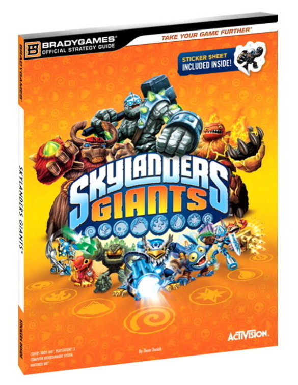guide officiel skylanders giants cover