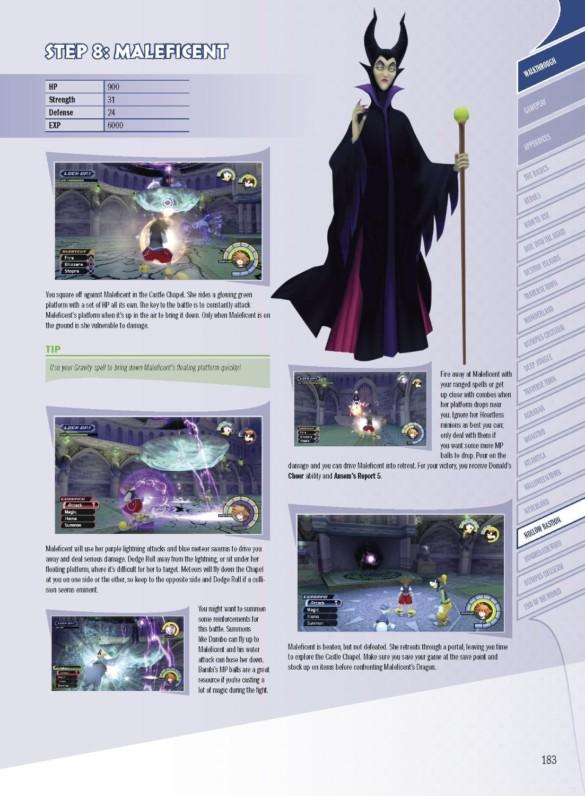 guide officiel kingdom hearts 1.5 remix HD