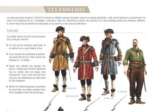 Extrait du guide officiel : Les ennemis