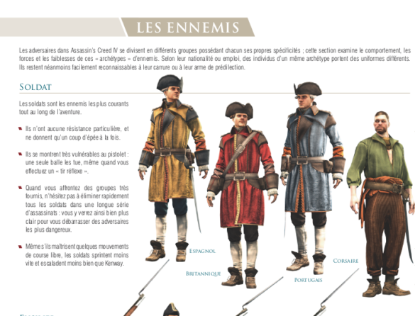 extrait ennemis assassins creed 4