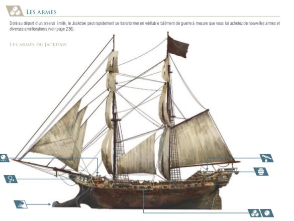 extrait guide officiel navire jackdaw