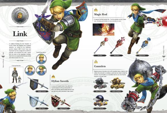 guide officiel zelda hyrule warriors legends