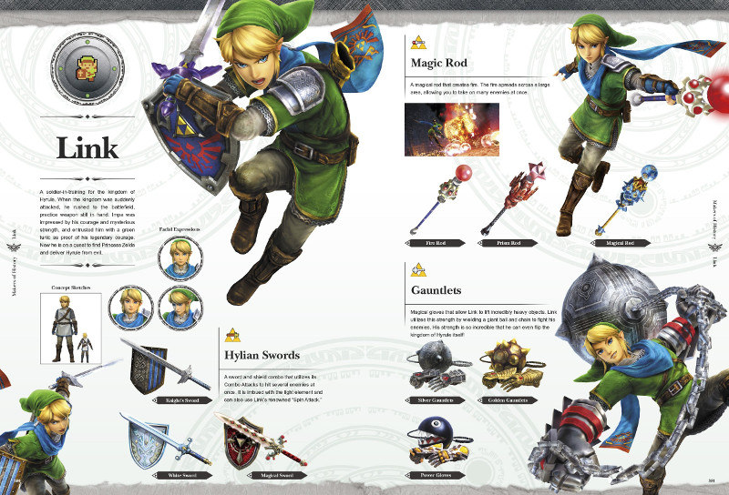 guide officiel zelda hyrule warriors legends