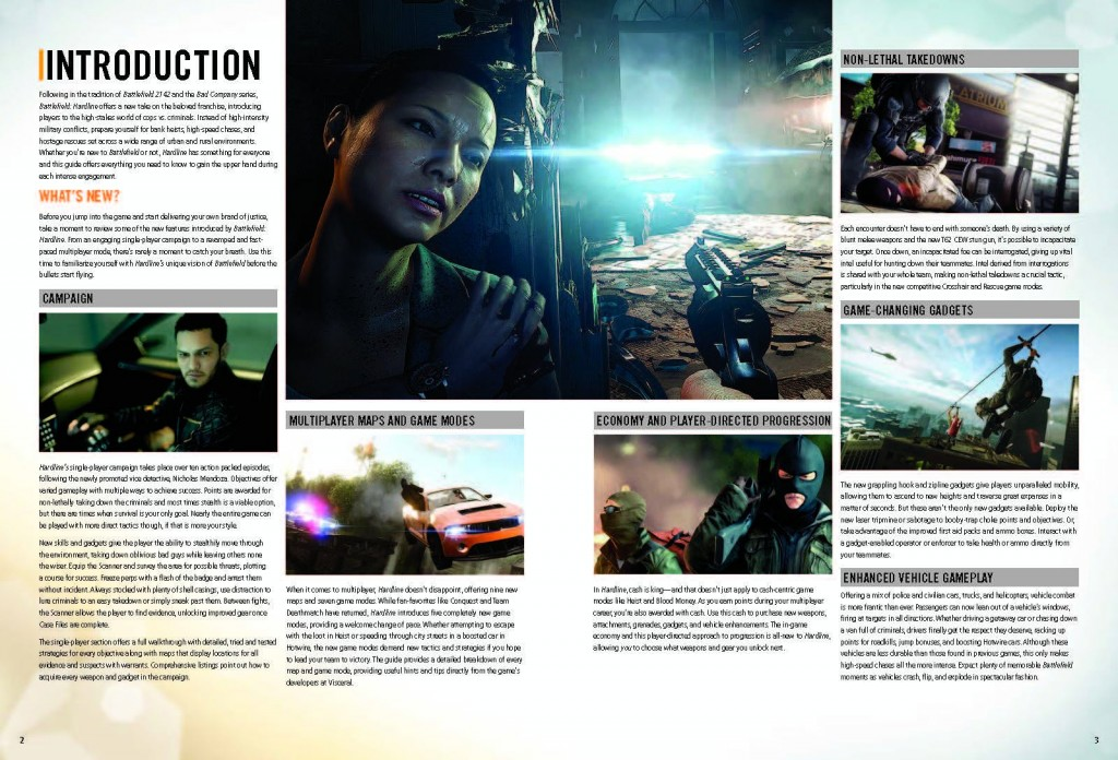 screen guide officiel battlefield hardline