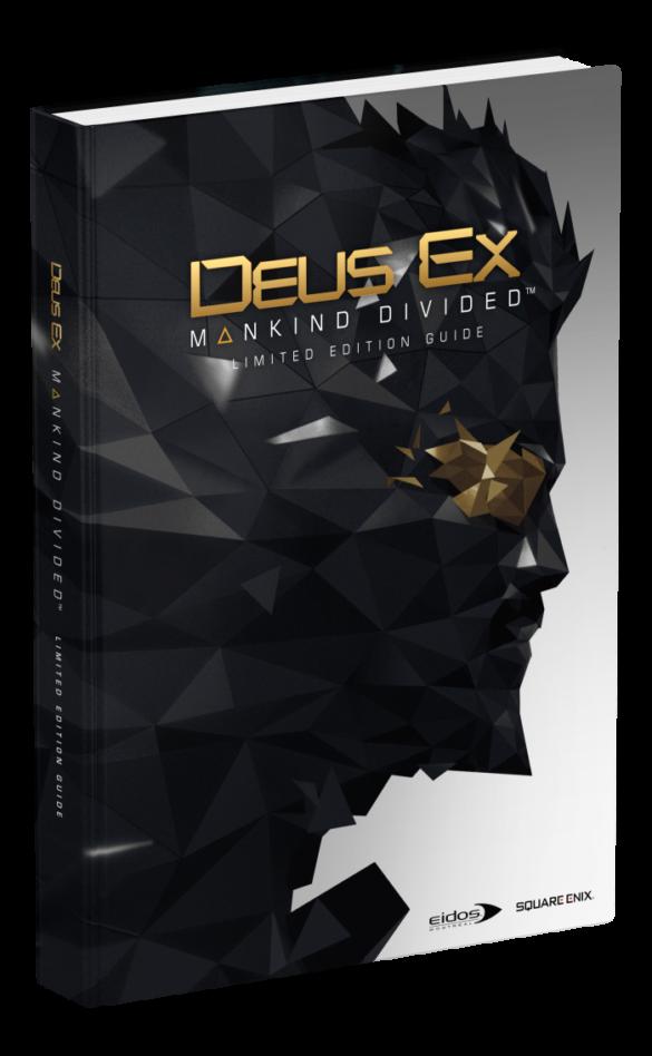 guide officiel deus ex mankind divided