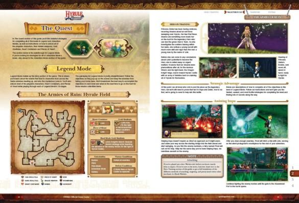 guide officiel extrait hyrule warriors
