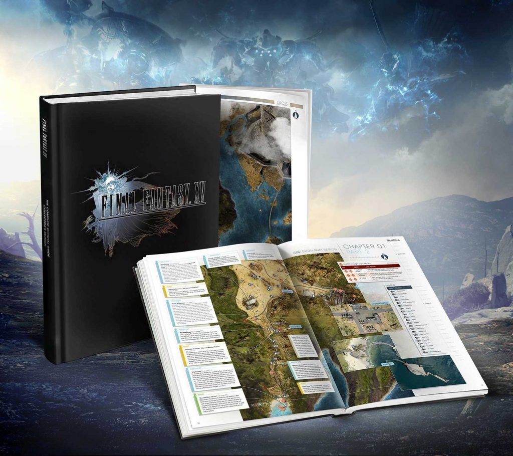 guide collector final fantasy xv