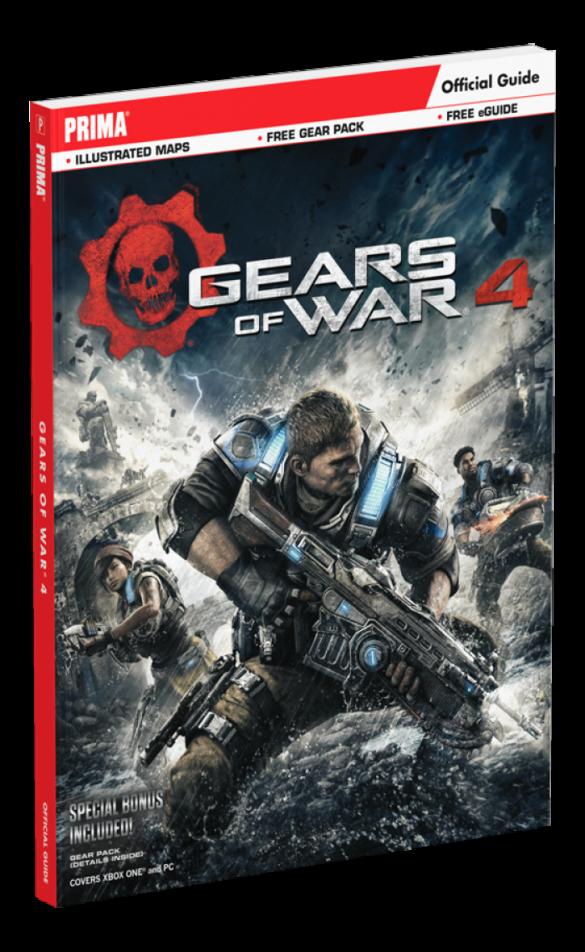 guide officiel gears of wars 4