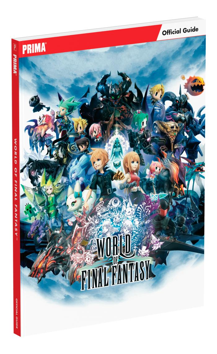 World of Final Fantasy - Guides Officiels de Jeux Video