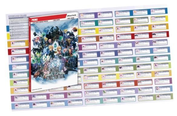 poster world of final fantasy